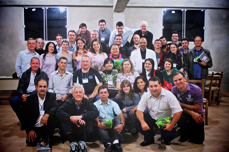 20 plus Pastors and their wives came from all over South Brazil