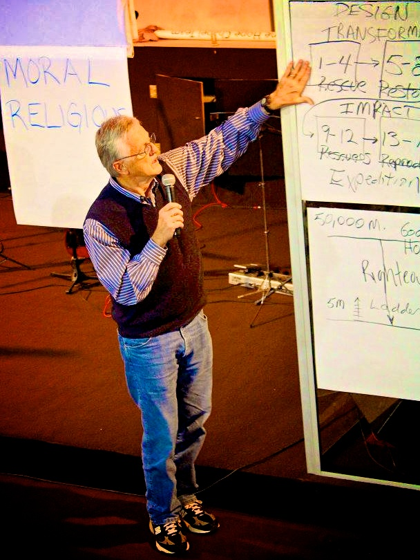 Teaching through Romans using flip charts