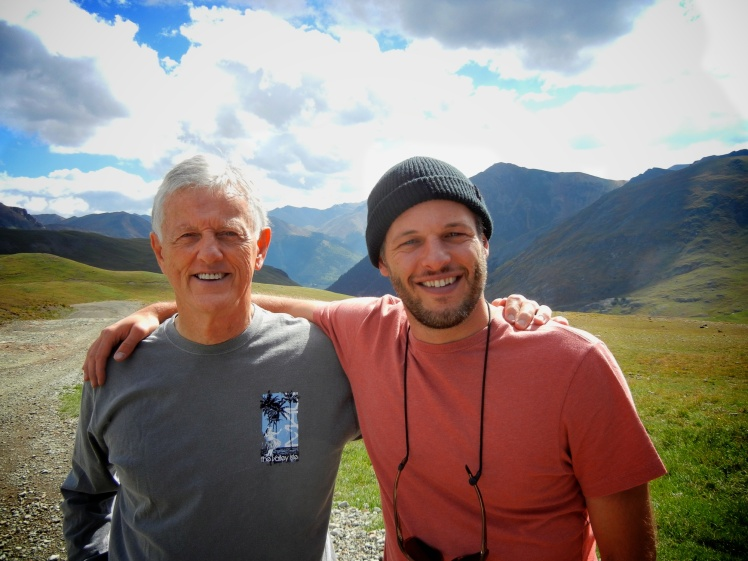 Father and Son at 13,000'