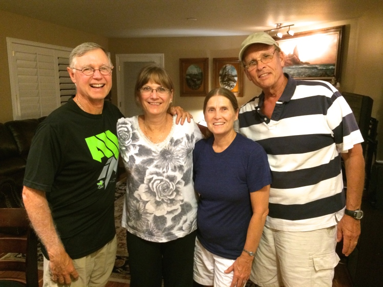 Paul, Judy, Myrna, Kent