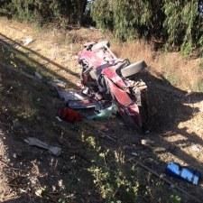 Kelton:Crashed Car