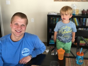 Grandson's Mason and Linus III...22 and 2.