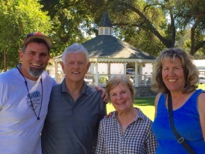 "Rich (part of the Traction staff...retreat for ""at risk"" missionaries I am also part of the staff of) and wife Denise."