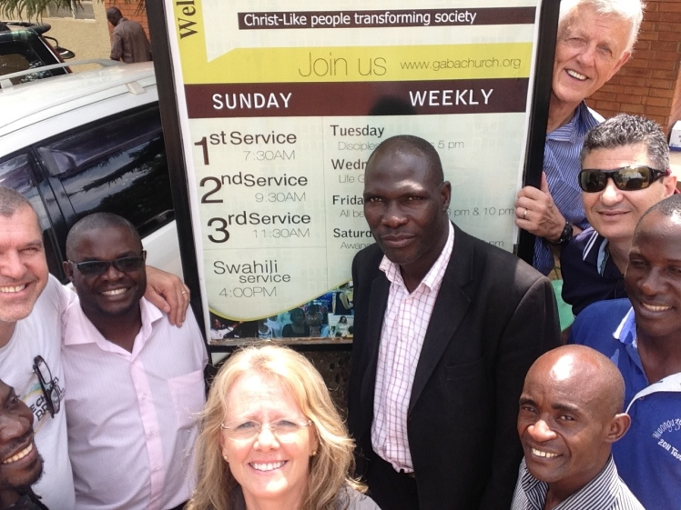Training Team in Uganda